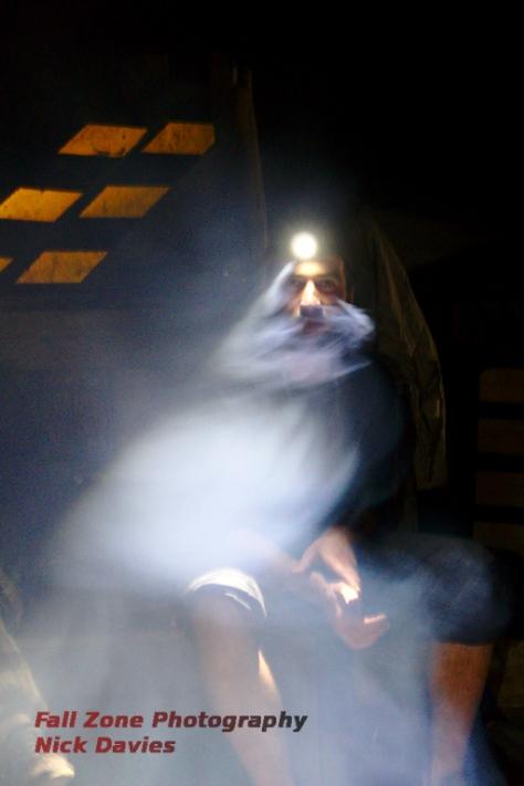 Smoke and light.....